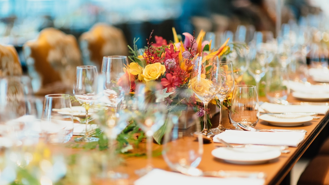 Table for Eco-Friendly Event