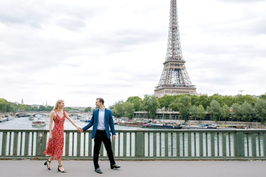 Paris Engagement Photos