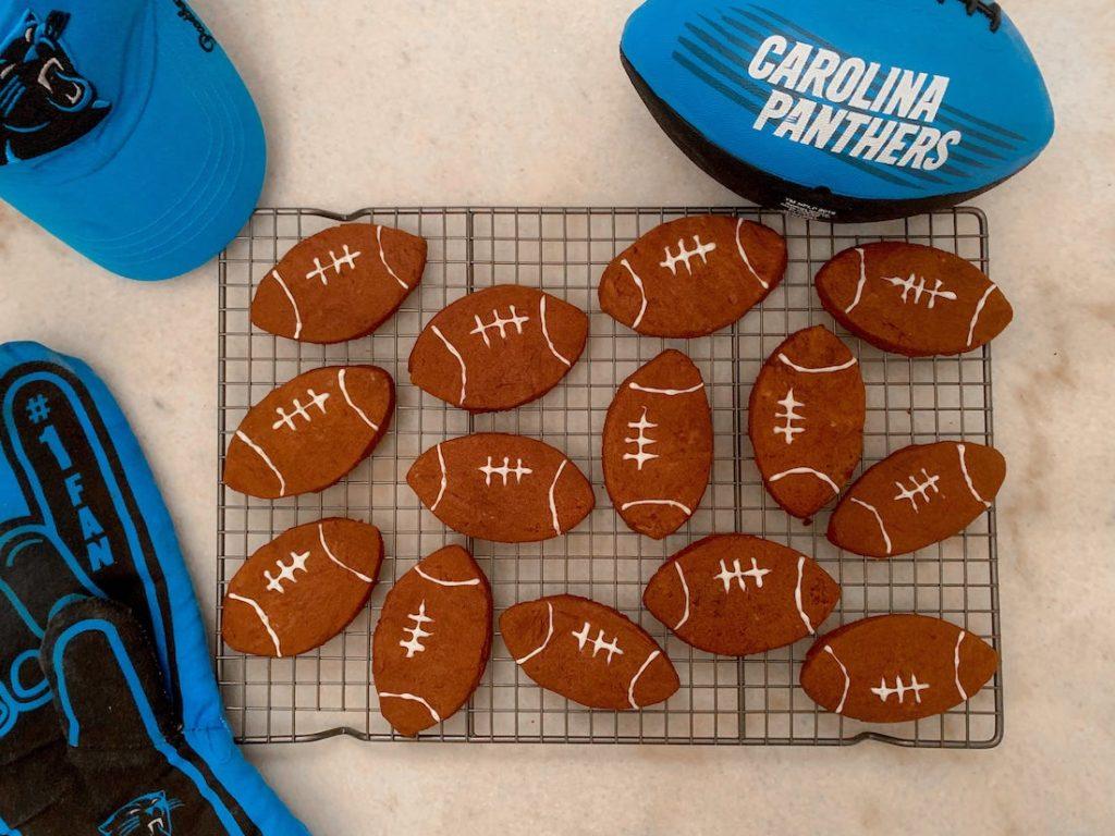 Super Bowl Football Cookies