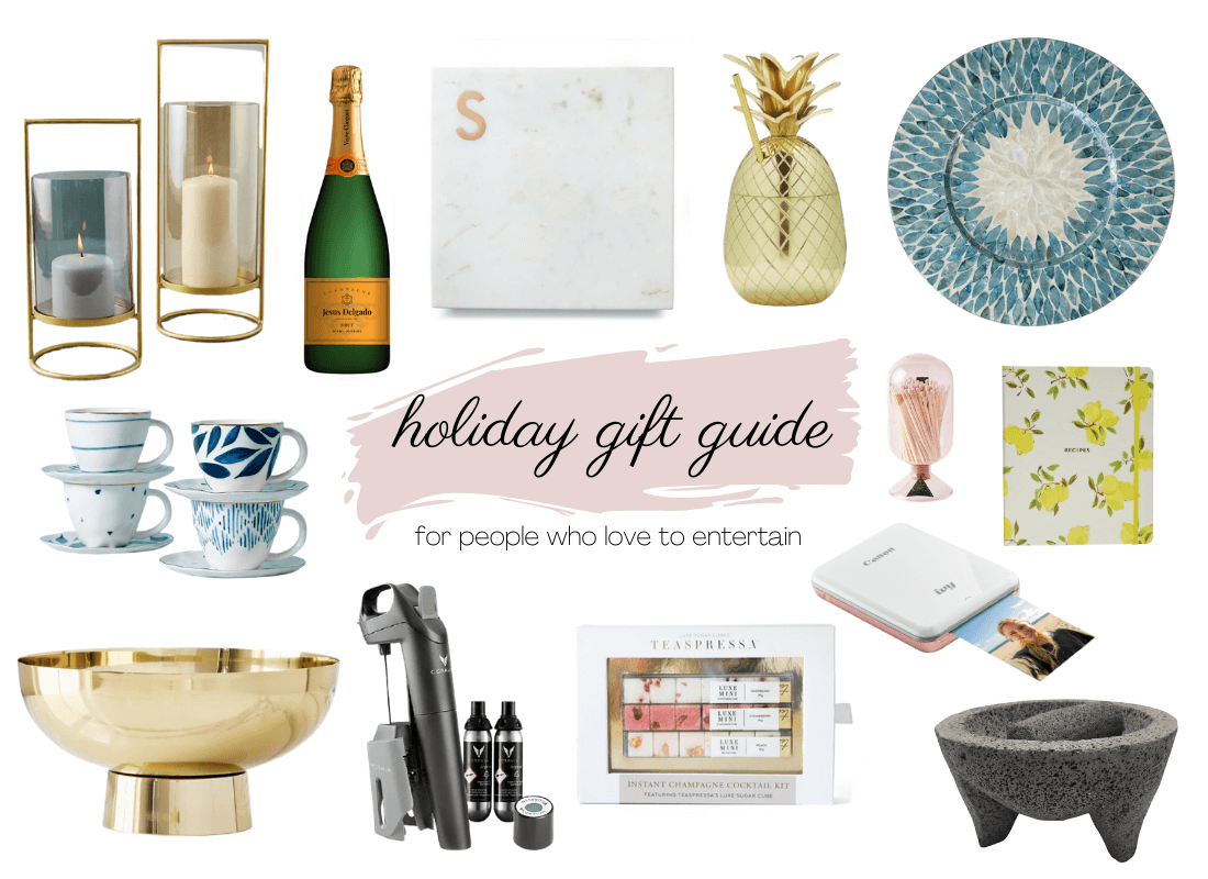 Holiday gift guide for people who love to entertain