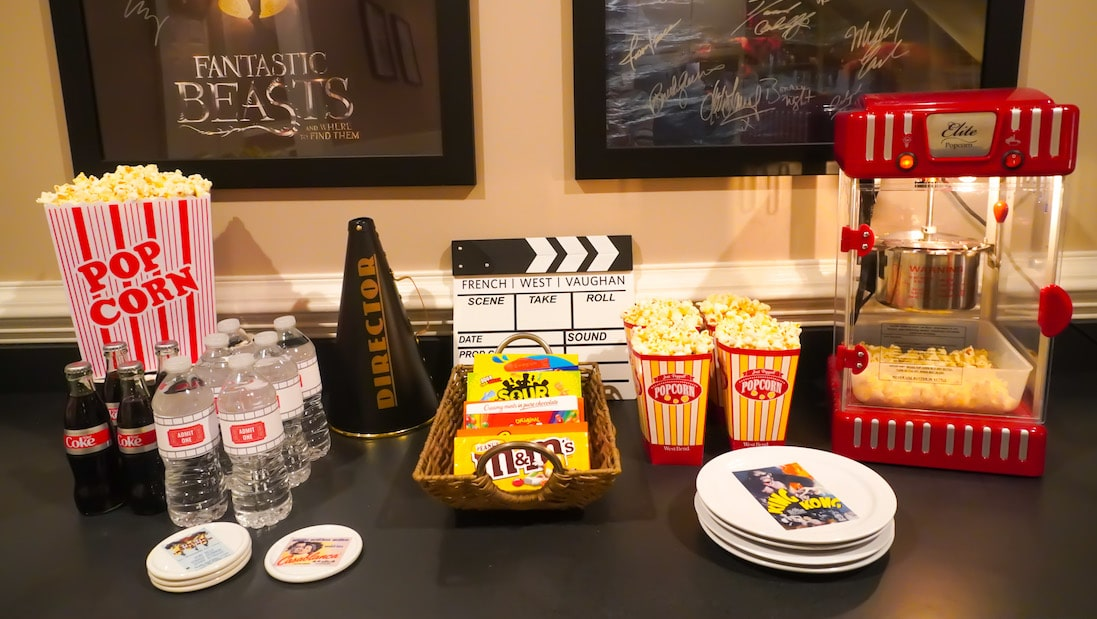 Movie night party at home ideas
