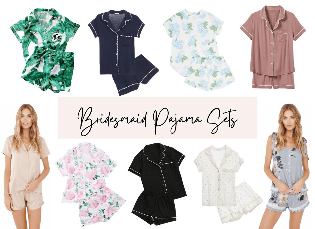 Bridesmaid Pajamas Sets