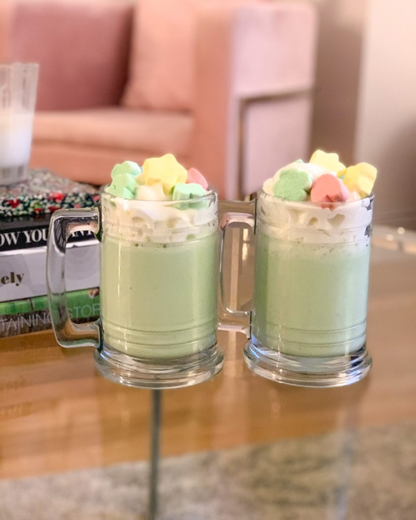 St. Patrick's Day treats: Shamrock Shakes