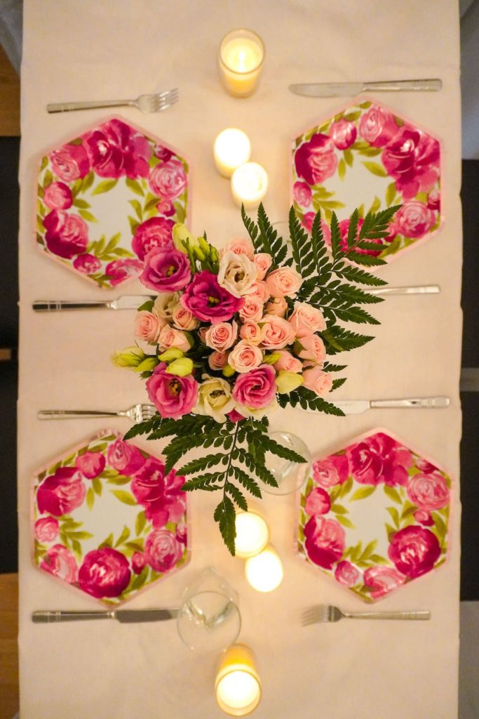 Mother's Day table- affordable ideas